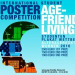 """""""Age-Friendly Living 2016"""" International Student Poster Design Competition"""